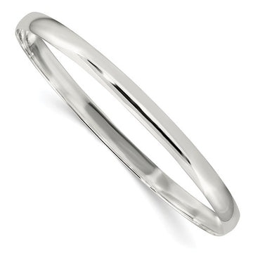 Sterling Silver 4.5mm Bangle