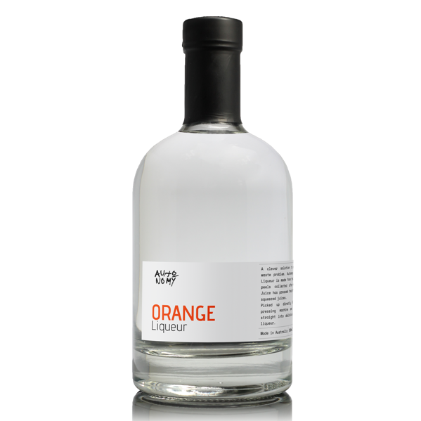 Autonomy Australian Orange Liqueur 38% 500ML - Mind Spirits & Co.