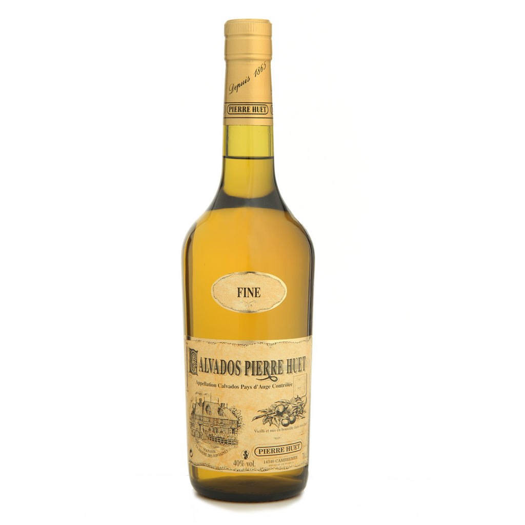 Pierre Huet Calvados Fine 2 years 40% 700ML - Mind Spirits & Co.