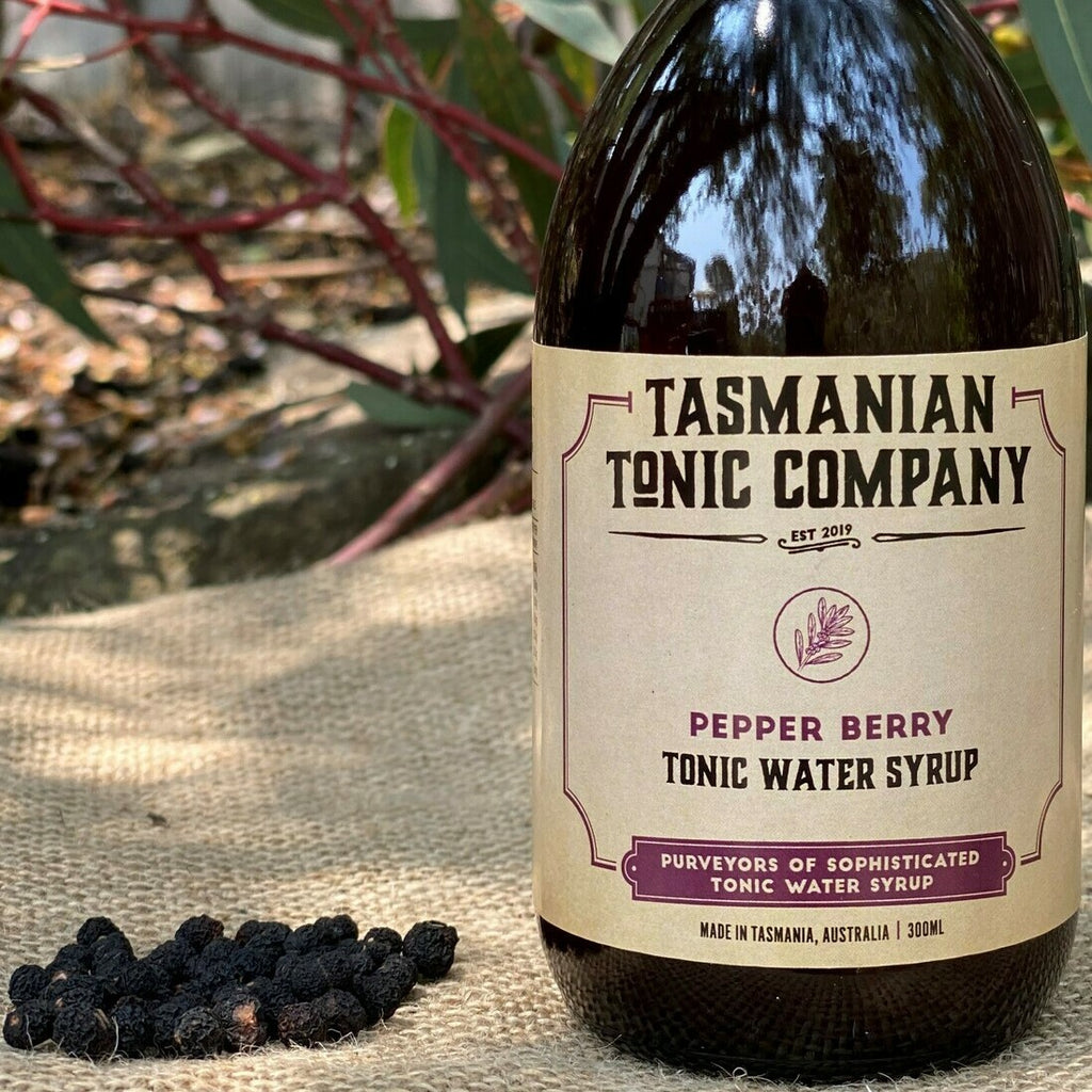 Pepper Berry Tonic Syrup 300ml - Mind Spirits & Co.