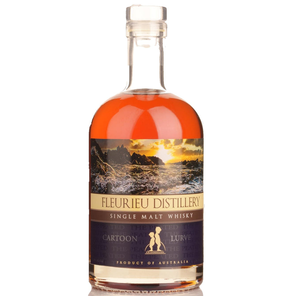 Fleurieu Distillery - Cartoon Lurve Single Malt Whisky - South Australia 52% 700ML