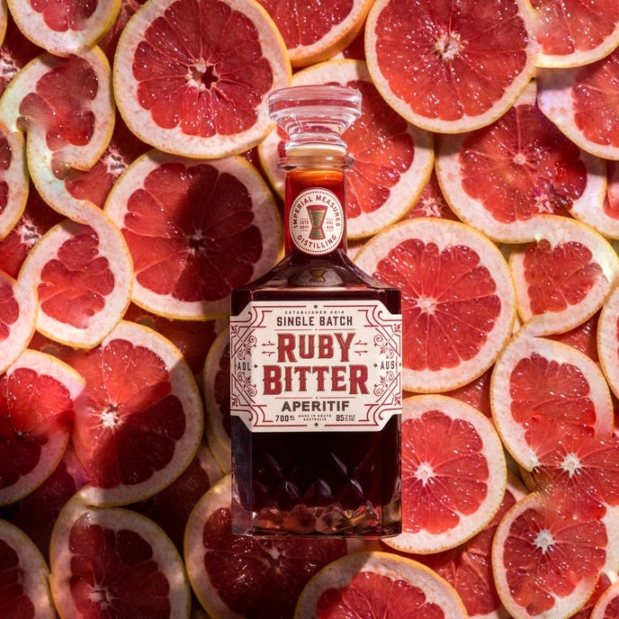 Ruby Bitter Aperitif South Australia 25% 700ML