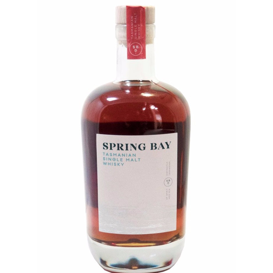 Spring Bay Tasmanian Single Malt Whisky Port 46% 350ML