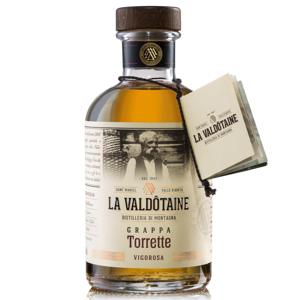La Valdotaine Torrette Grappa 43% 500ML