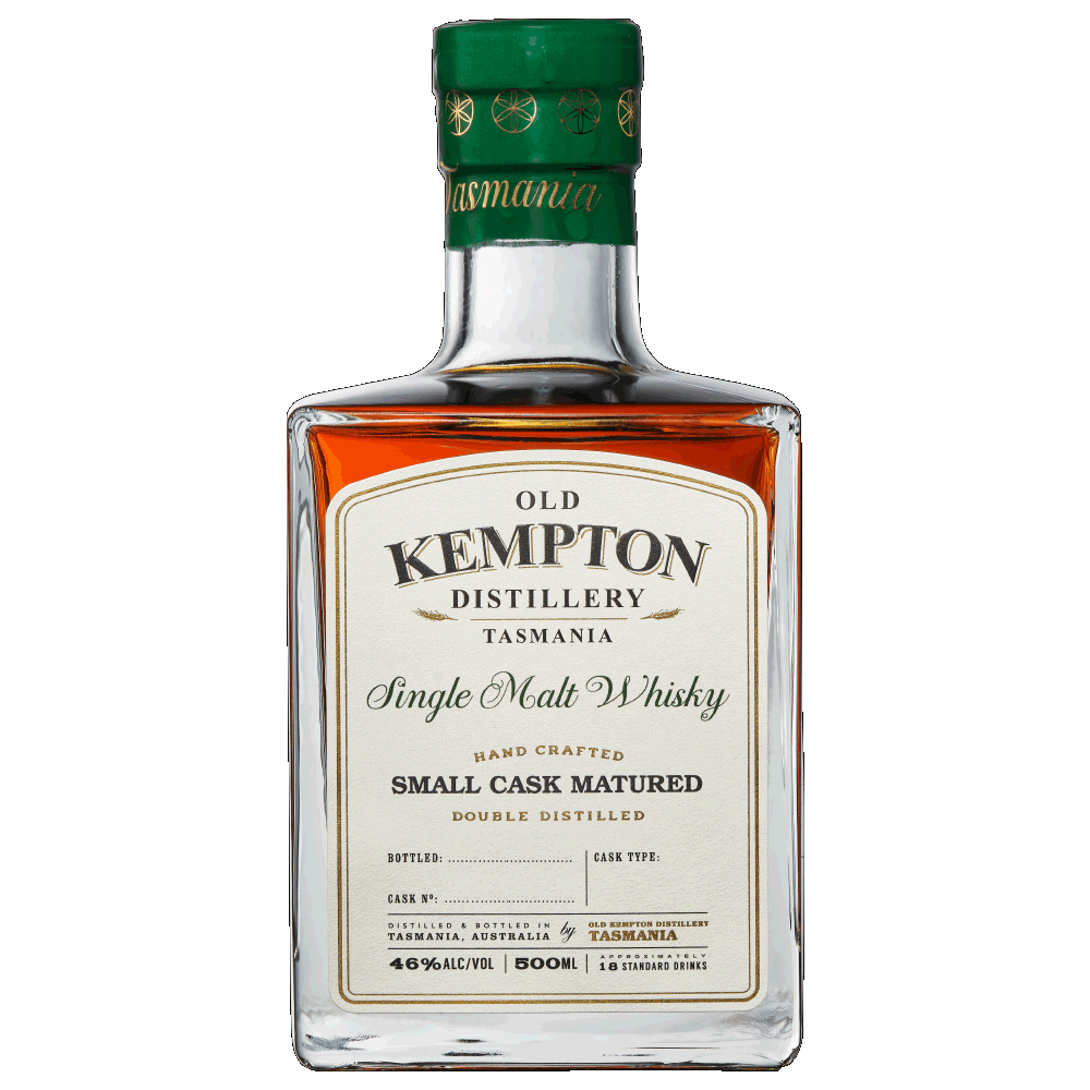 Old Kempton Tasmanian Pinot Small Cask Matured Whisky 46% 500ML - Mind Spirits & Co.