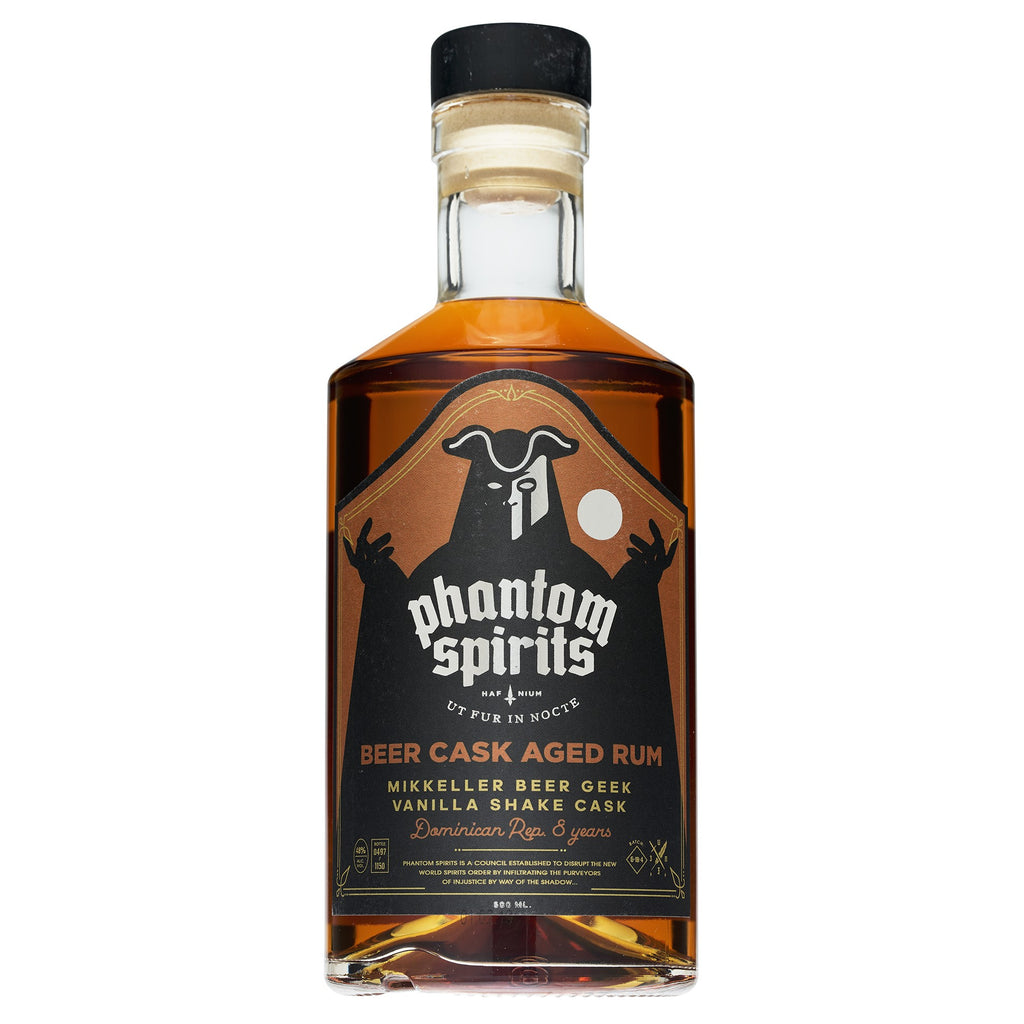 Phantom Spirits Rum - Mikkeller Beer Geek Vanilla Shake - Dominican Republic 8yo - 48 % 500ml - Mind Spirits & Co.