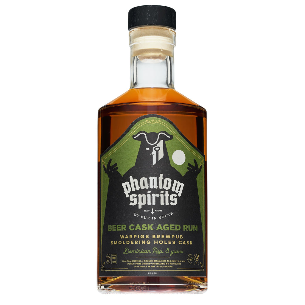 Phantom Spirits - Warpigs Brewpub Smoldering Holes Cask - Dominican Republic 8yo - 45 % 500ml - Mind Spirits & Co.