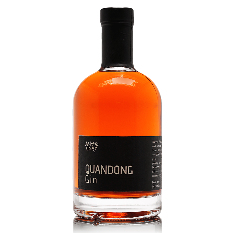 Autonomy Quandong Gin Victoria 500ML 40% - Mind Spirits & Co.