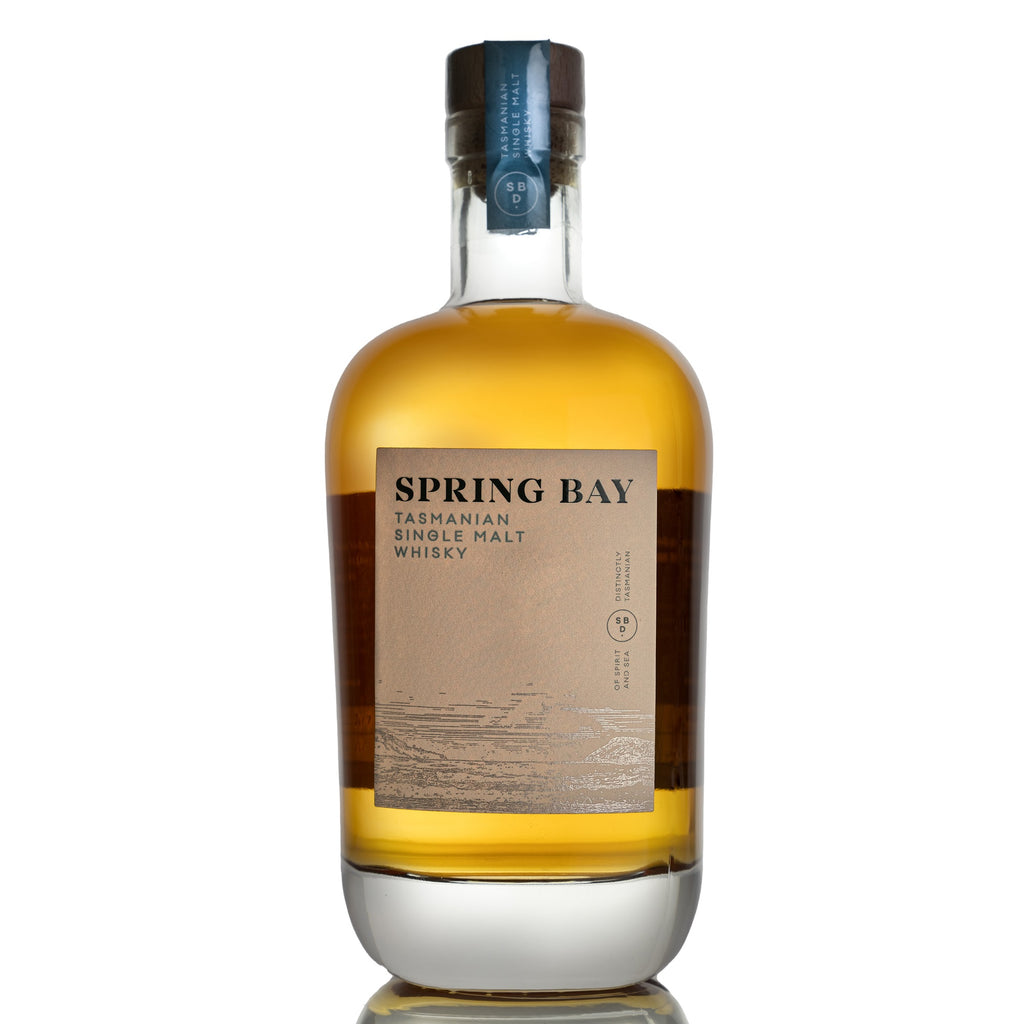 Spring Bay Tasmanian Single Malt Whisky Bourbon 46% 700ML