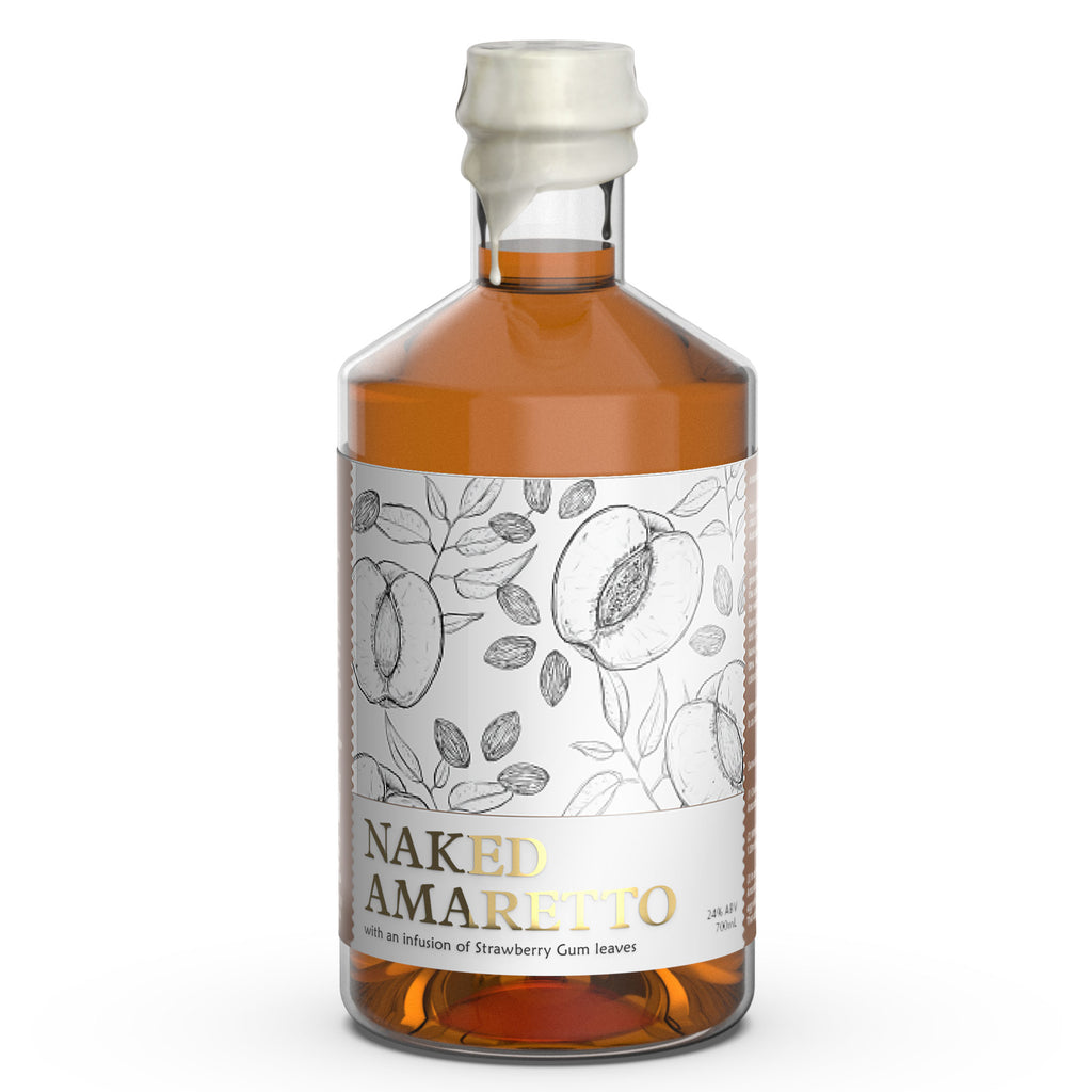 White Possum Naked Amaretto 24% 500ML