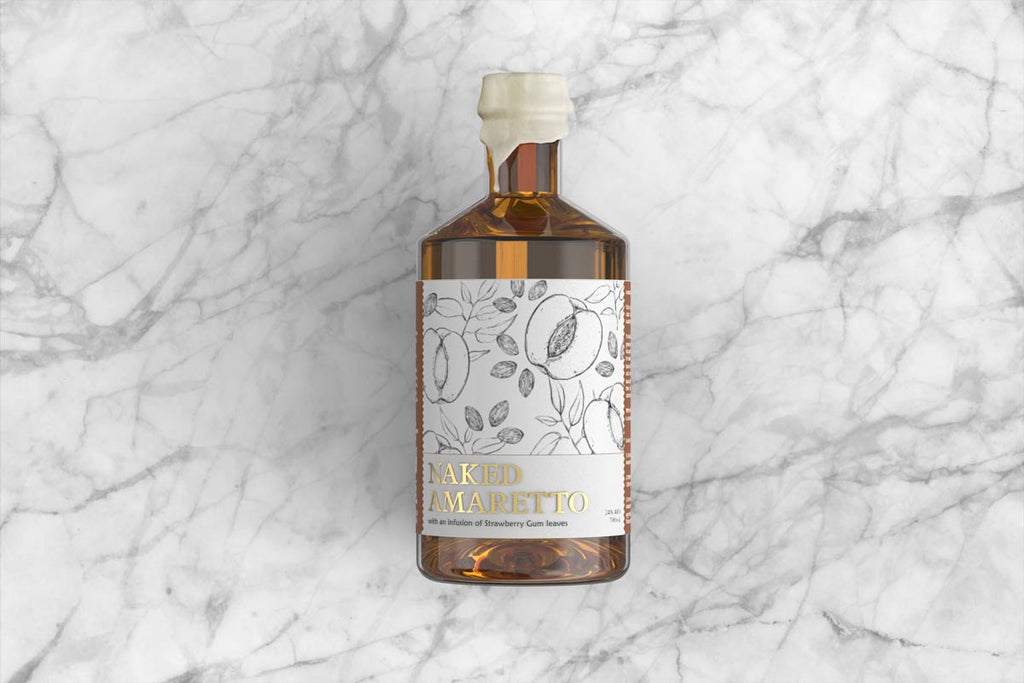 White Possum Naked Amaretto 24% 500ML - Mind Spirits & Co.