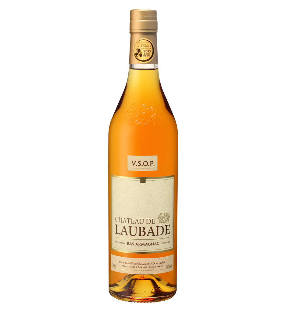 Chateau de Laubade Bas Armagnac  VSOP 6 years old 40% 700ML - Mind Spirits & Co.