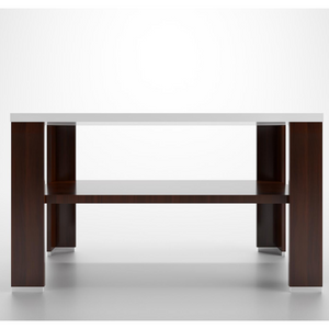 Pengu Coffee Table With - White & Brown