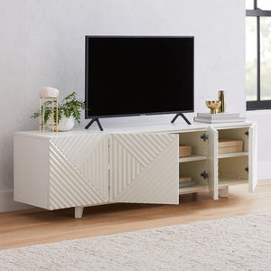 Pengu Designer TV / Entertainment Unit - MC-01-White - Also available on Amazon India