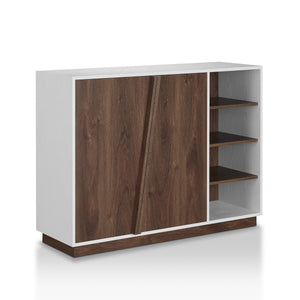Pengu Wooden Shoe Rack - Dark walnut Fits 16-18 pairs of shoe