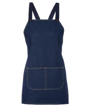 Navy Denim Bib Apron