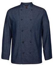 Load image into Gallery viewer, Denim Chef Coat L/S - Global Chef