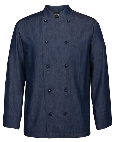 Denim Chef Coat L/S - Global Chef