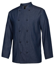 Load image into Gallery viewer, denim chef jacket