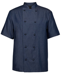 Denim Chef Coat S/S - Global Chef
