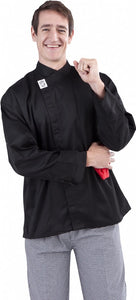 Black Modern Chef Jacket