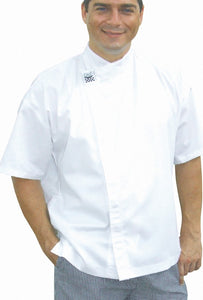 Short Sleeve Modern Chef Jacket