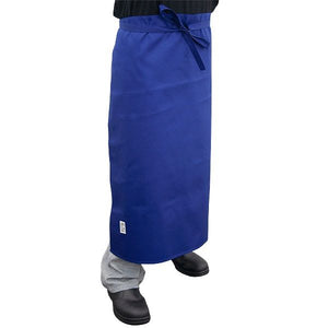Navy Blue Chef Waist 3/4 Apron - Global Chef