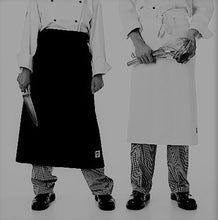 Load image into Gallery viewer, Standard Chefs Waist 3/4 Apron - Global Chef
