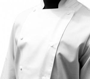EPIC Traditional White Long Sleeve Chef Jacket