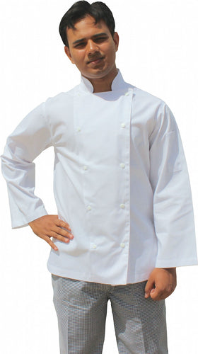 EPIC Light Weight Long Sleeve Chef Jacket - Global Chef