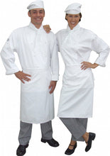 Load image into Gallery viewer, Full Chef Uniform jacket and Pants, apron, hat and scarf
