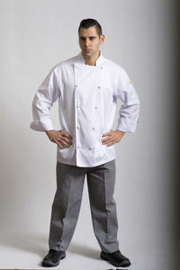 Brigade - Traditional White Long Sleeve Chef Jacket