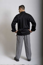 Load image into Gallery viewer, GC-Classic Black Long Sleeve Chef Jacket