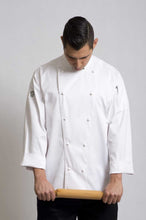 Load image into Gallery viewer, Traditional White Long Sleeve Chef Jacket - Global Chef