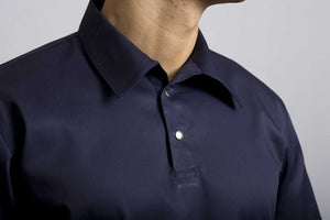 Navy Kitchen Shirt - Short Sleeve