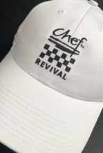 Load image into Gallery viewer, Chef Revival White Baseball Cap (Embroidered) - Global Chef