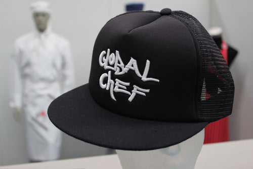 Black Funky Peaked Cap - Global Chef