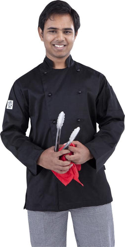 Global Chef Black Colour Chef Jacket