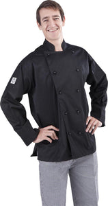 Global Chef Chef Jacket Black Colour