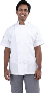 Global Chef Short Sleeve Chef Jacket