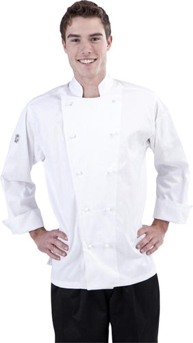 Light Weight Long Sleeve Chef Jacket - Global Chef
