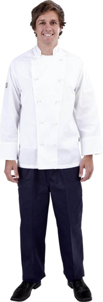 White Global Chef Jacket Light weight