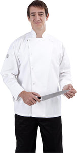 Global Chef Jacket Long Sleeve with Press studs