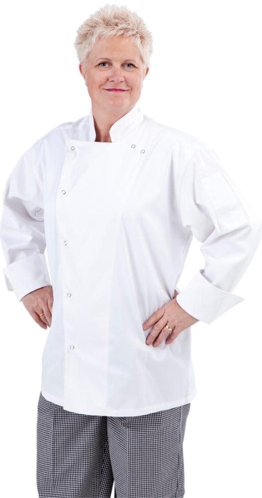 Traditional Global Chef Jacket with Ring snaps