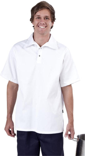White Kitchen Shirt - Short Sleeve - Global Chef
