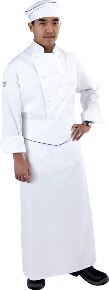 Chef wearing a Full Cotton uniform