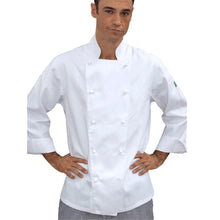 Load image into Gallery viewer, Brigade - Traditional White Long Sleeve Chef Jacket - Global Chef
