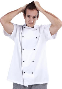 A940 Brigade Chef Jacket short sleeve