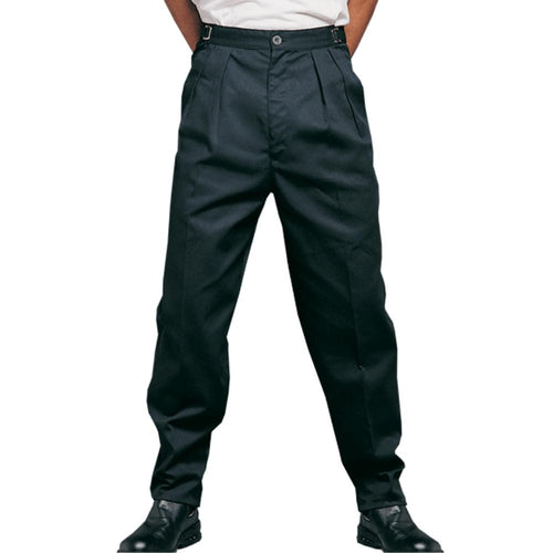 Black Executive Chef Work Pants - Global Chef