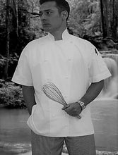 Load image into Gallery viewer, CR - Classic White Short Sleeve Chef Jacket - Global Chef